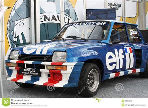 renault race cars renault elf racing car editorial photography image of