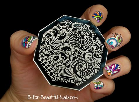 Another Neon Stamping Nail Art? ♥  B For Beautiful Nails