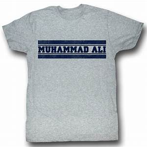 Unisex Shirt Size Chart Muhammad Ali T Shirt Ali Gym Heather Grey Tee Shirt