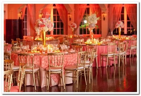 Coral Wedding Decorations by Cool Coral Wedding Theme Ideas Weddceremony