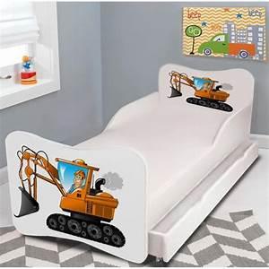 Lit gigogne enfant quotpelle mecaniquequot sommiermatelas for Luminaire chambre enfant avec matelas dunlopillo bz