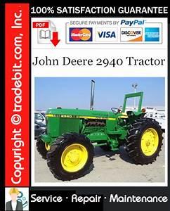 John Deere 2940 Tractor Service Repair Manual Download