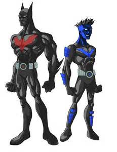 Batman Robin Nightwing Beyond