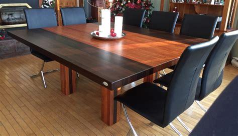 cuisine acier tables en bois massif signature stéphane dion