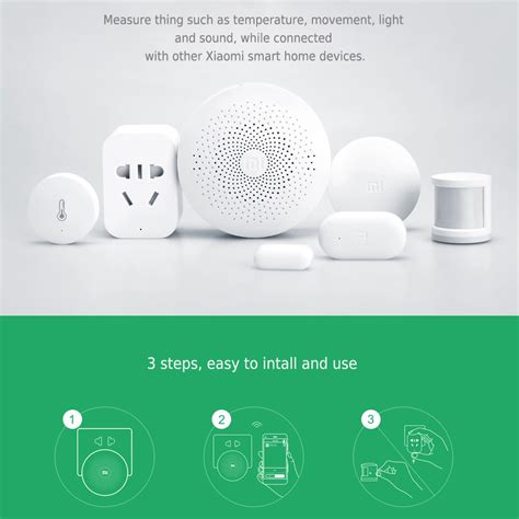 original xiaomi gateway smart home device multifunctional