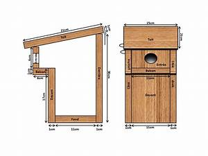 Plan Nichoir Oiseaux : nichoir balcon a construire pour abriter les m sanges qui mange les chenille processionnaires ~ Melissatoandfro.com Idées de Décoration