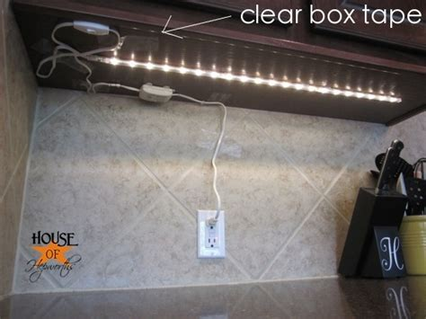 Under cabinet lighting solution   lights from IKEA from