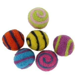 artiste  brights swirl wool felt balls shop hobby