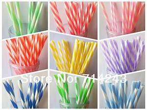 free shipping 2015 hot sale decorative fancy vintage With decorative straws for weddings