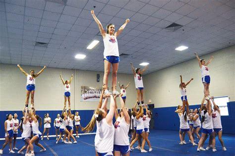 rebel cheerleaders   teams  nationals  year