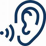 Icon Listening Ear Communication Active Icons Ada