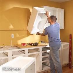 install cabinets like a pro the family handyman