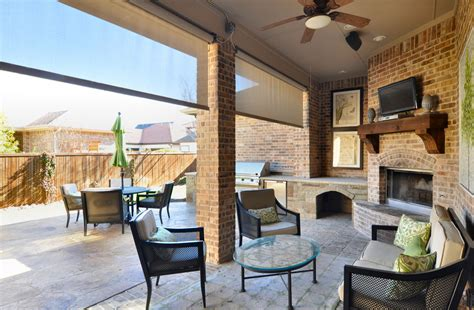 patio with fireplace patio with outdoor kitchen