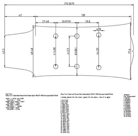 The Pdf Template Fender Stratocaster Standerd Headstock by Gibson Les Paul Headstock Dimensions Guitars Build