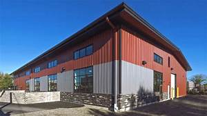 Commerical buildings metal buildings all steel northwest for All steel building company