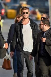 Chris Hemsworth laughs off Angelina Jolie rumours on Ellen  Chris