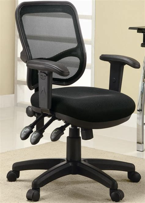 black fabric home office chair office chairs