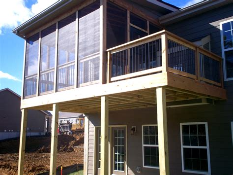 st louis mo screen porch ceiling options  archadeck