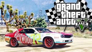 GTA V on PS4 - Stock Car Racing - YouTube