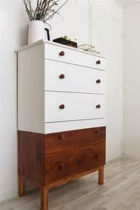 Ikea Tarva Kommode : restyled mid century ladekast ikea hack a cup of life design ikea tarva dresser ikea ~ Watch28wear.com Haus und Dekorationen