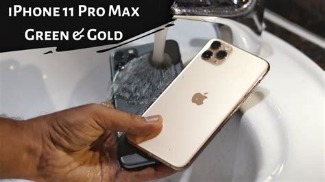 iphone pro max unboxing water test youtube