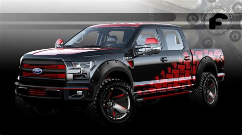 future ford f150 2015 sema preview ford teases seven new f150 concepts for