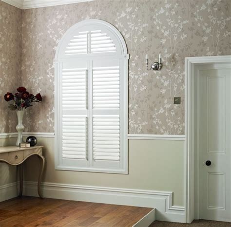 Living Room Feature Window by Beautiful Shaped Shutter Completed By Architraves Makes A