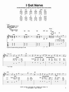 I Got Nerve By Hannah Montana Easy Guitar Tab Guitar