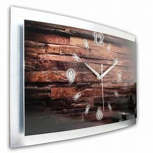 Wanduhr Xxl Holz : 3d wanduhr metallic holz waa013 ~ Buech-reservation.com Haus und Dekorationen
