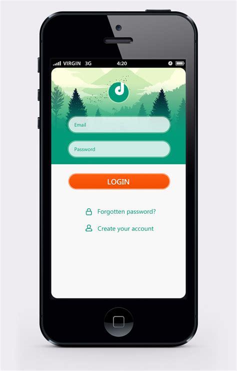 3 mobile login 20 mobile ui logins designs for inspiration twelveskip