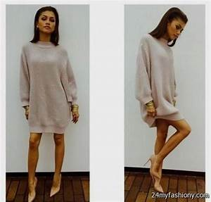 Sweater Dress Outfits Tumblr 2016 2017 B2B Fashion
