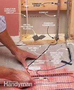 Wiring Diagram Heated Floor Mats