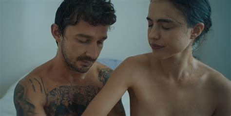 Shia LaBeouf, Margaret Qualley Star in NSFW Music Video ...