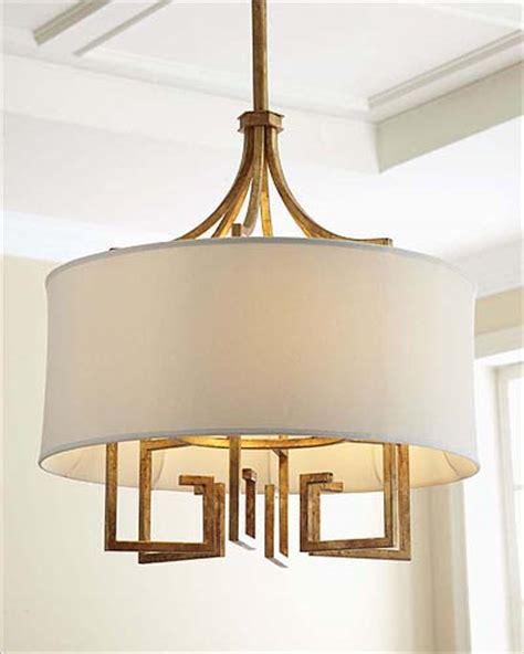Le Chandelier by Andrew Le Chic Gold Chandelier