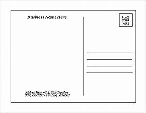 postcard templates With postcard template for pages