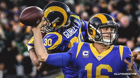 rams news todd gurley  jared goff combine  holiday