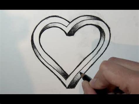 comment dessiner un coeur 3d 233 par 233