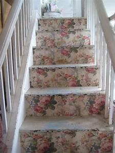 Treppe Shabby Chic : tipos de escadas decoradas e cheias de estilo arquitetura shabby chic m bel treppe e m bel ~ Frokenaadalensverden.com Haus und Dekorationen