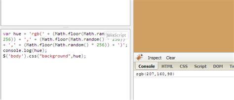 random color javascript generating random color values using javascript sitepoint