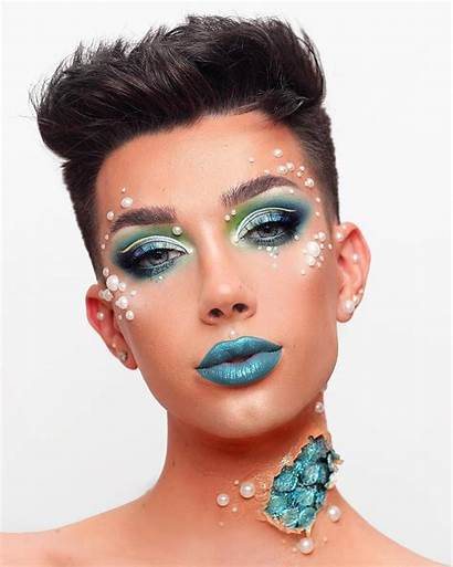 Charles James Makeup Looks Mermaid Maquillaje Halloween