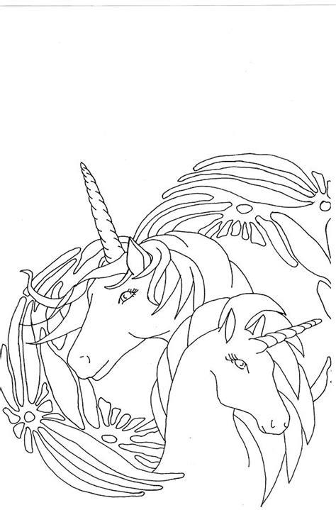 unicorns drawing  yvette pichette