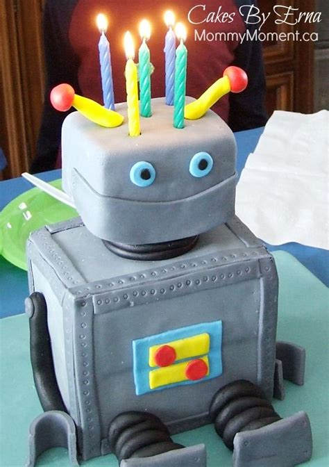 Robot  Ee  Birthday Ee   Cake Birthdays Cakes And Search