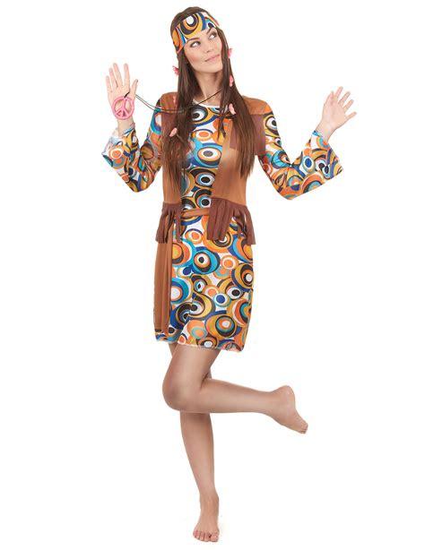idée déguisement femme fait maison look hippie femme style hippie chic profitez du printemps
