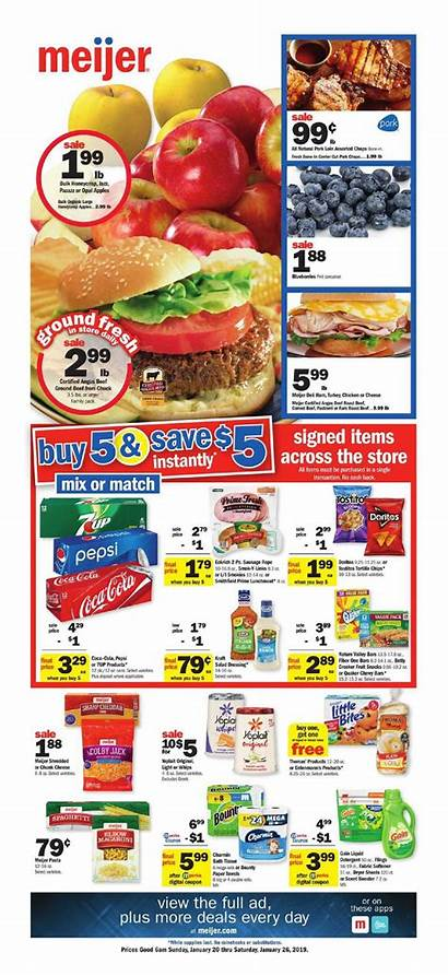 Meijer Weekly Ad Flyer Grocery Weeklyad123 Circular