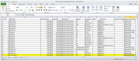 document tracking system excel excelxocom