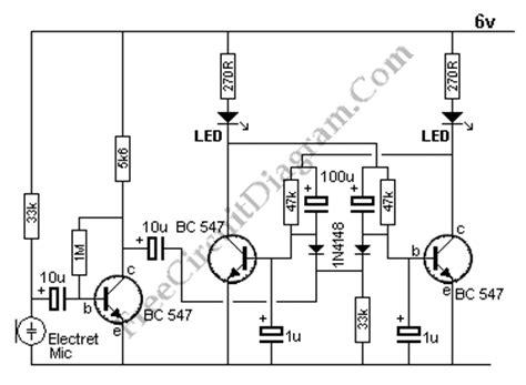 Sound Sensor Page Electronic Circuit Diagram