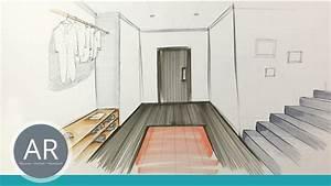 Perspektive Zeichnen Raum : zimmer zeichnen perspektive zeichnen lernen akadmie ruhr tutorials perspektivisch zeichnen ~ Orissabook.com Haus und Dekorationen