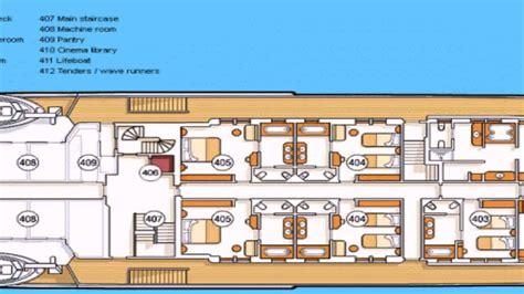 Yacht Floor Plans by Luxury Yacht Floor Plan
