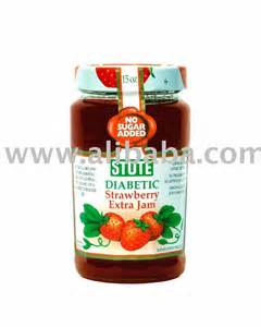No Sugar Added Strawberry Jam
