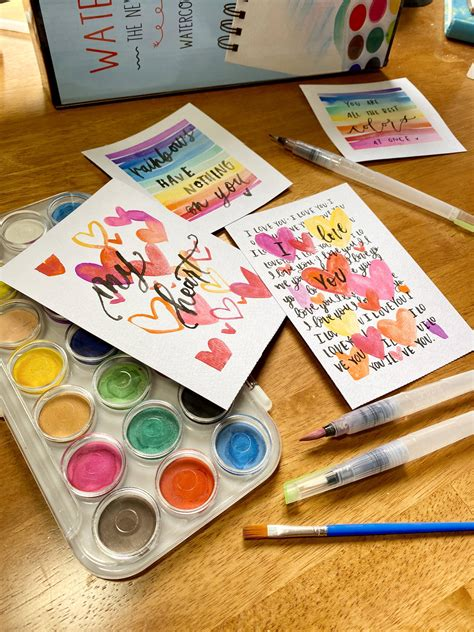 Check spelling or type a new query. DIY Watercolor Valentine's Day Cards